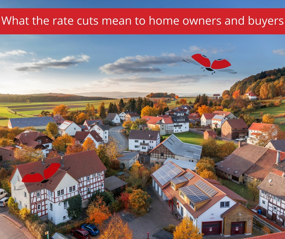 """The Reserve Bank decided on Wednesday to cut its repo rate by 25 basis points to 6,5% and the prime rate and home loan """"base"""" rate from 10,25% to 10%."""